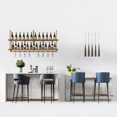 ?#21830;? 吧椅, 摆件, 装饰架, 酒架, 吊灯, 现代, 双十一