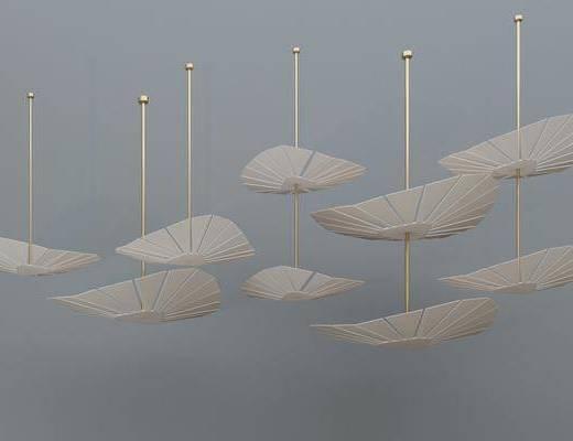 金属吊灯, 扇子吊灯, 铁艺吊灯, 艺术吊灯, 伞吊灯, 现代