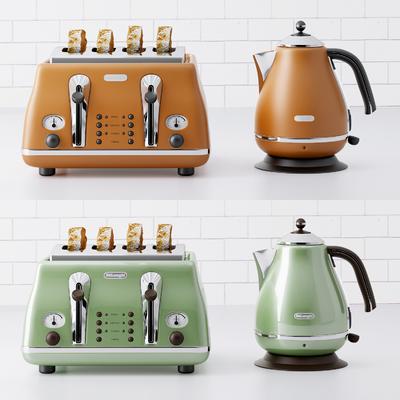 面包机, 厨具, 茶壶, 电器, 现代