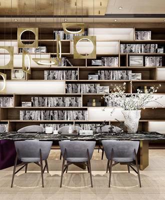 餐桌椅, 装饰柜, 置物柜, s书柜, 单椅, 椅子, 现代, 后现代
