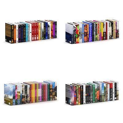 书籍杂志组合, 书籍, 现代
