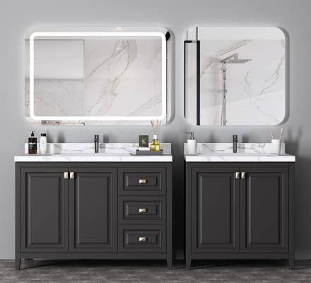 卫浴组合, 洗浴组合, 柜架组合, 洗手盆