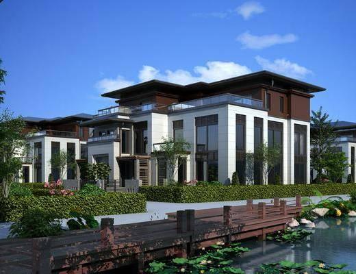 新中式别墅, 别墅