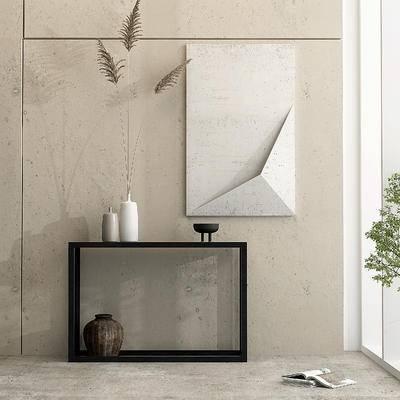 现代墙饰, 花瓶摆件组合