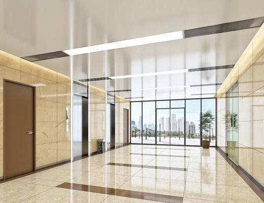 現代電梯間, 電梯間, 現代