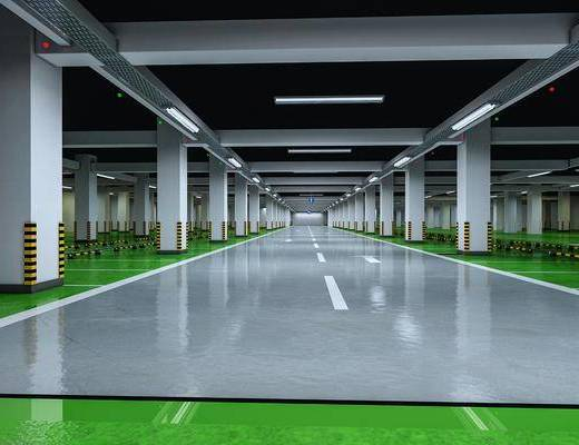 现代, 地下停车场, 工装