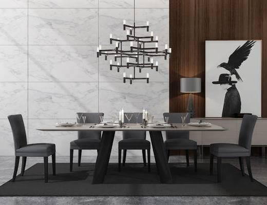 餐厅, 餐桌椅, 东南亚