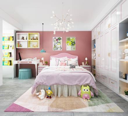 儿童房, 卧室, 儿童床