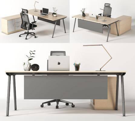 �F代, �k公桌, 工作位