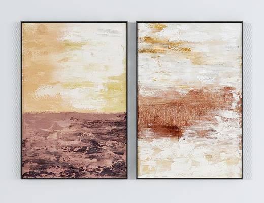 现代油画装饰画, 挂画, 墙饰