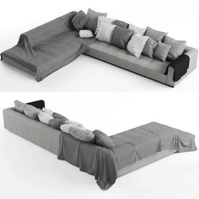 多人沙发, 沙发, 现代, 现代沙发