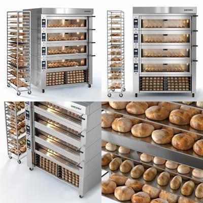 烤箱, 面包机, 机器