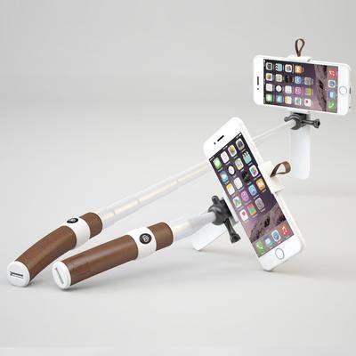 手机, 自拍杆