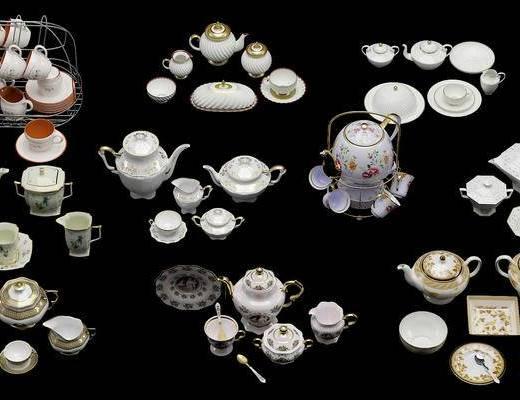 茶具组合, 瓷器茶具