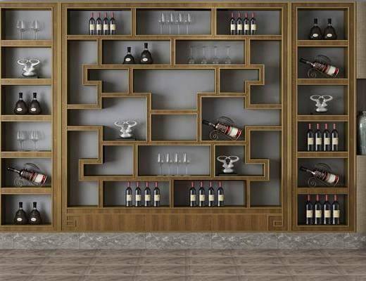 酒柜, 酒架, 置物架