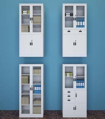 现代文件柜, 现代书柜, 现代, 书籍, 文件柜, 书柜