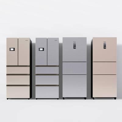 冰箱, 冰柜, 家电, 现代