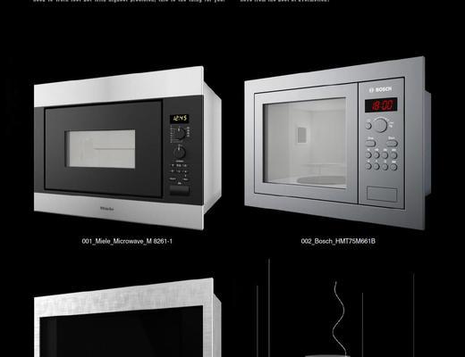 烤箱, 油烟机, Evermotion, Archmodels, EV