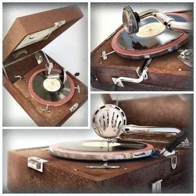 复古, 唱片机, 现代, 欧式, 古典, 经典