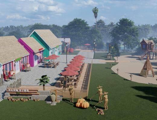 现代乡村咖啡厅, 亲子乐园活动基地