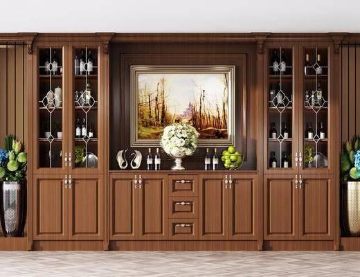 酒柜, 现代酒柜