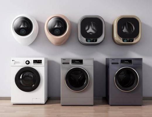 现代, 滚筒洗衣机, 单体
