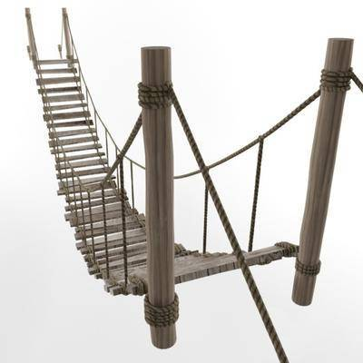 桥, 木桥, 现代