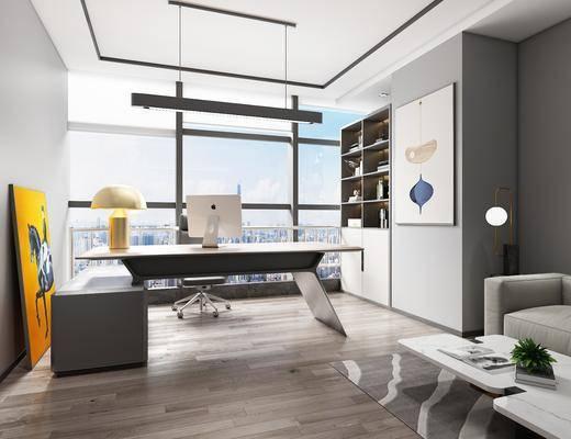 桌椅組合, 擺件組合, 吊燈, 裝飾畫, 沙發組合, 茶幾