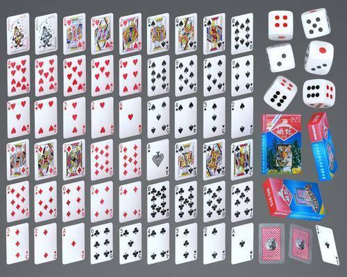扑克牌, 娱乐用品, 纸牌
