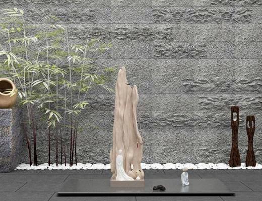 竹子, 景观小品