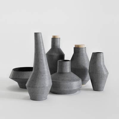 陶瓷, 瓷器, 边几, 现代