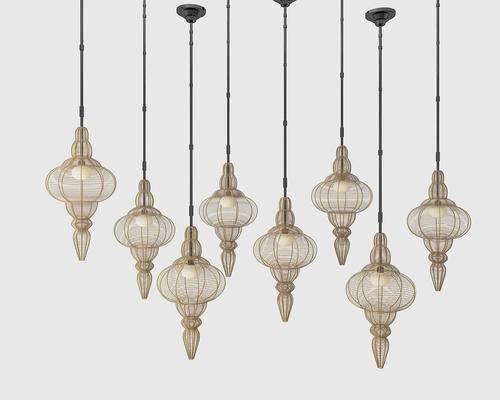 中式吊灯, 灯笼, 中式, 新中式吊灯