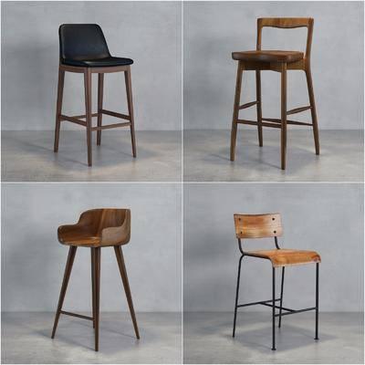 ?#30340;?#21543;椅, 皮质吧椅, 吧椅, 现代