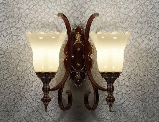 壁灯, 美式壁灯, 灯