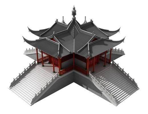 古建, 建筑, 寺庙