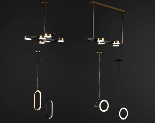 吊灯, 吊灯组合, 灯具