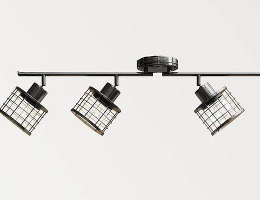工业风灯, 吸顶灯