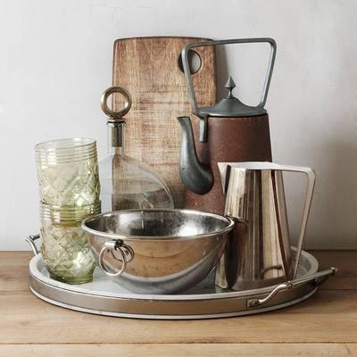 砧板, 厨具, 餐具, 现代砧板厨具餐具, 现代