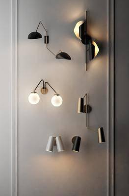 现代壁灯, 壁灯, 现代