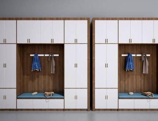 鞋柜, 装饰柜, 双十一, 中式