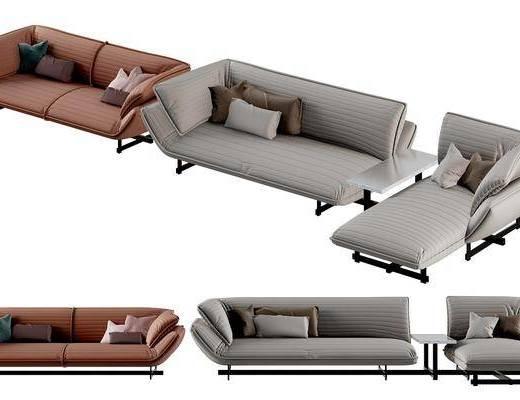 沙发, 多人沙发, 转角沙发, 现代