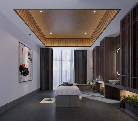康复室, 新中式康复室