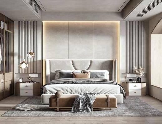 现代, 侘寂风, 卧室
