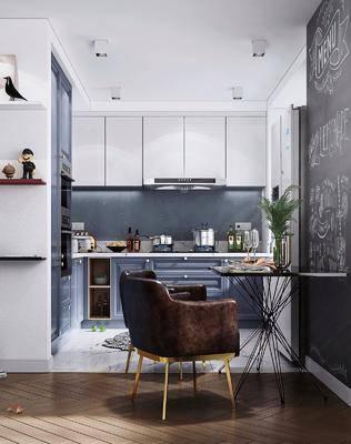 北歐廚房, 廚房, 櫥柜