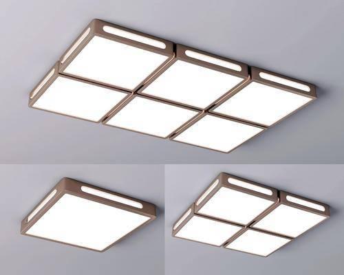 现代, 吸顶灯, 灯具, 单体