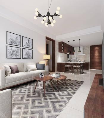 现代客餐厅, 沙发组合, 桌椅组合, 吧台组合, 沙发茶几组合, 床具组合, 床头柜组合, 橱柜组合