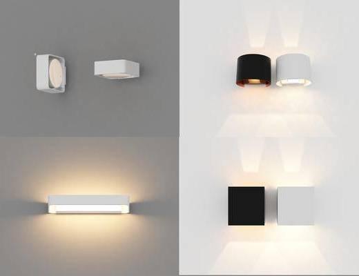 现代, 简约, 壁灯, 灯具
