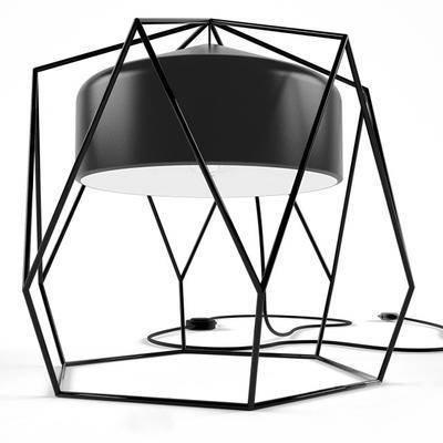 台灯, 造型台灯, 现代