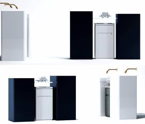 洗手台, 洗手盆, 现代