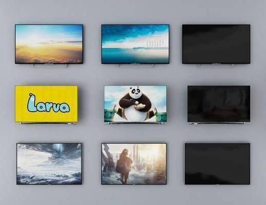 显示屏, 电器, 电视显示器